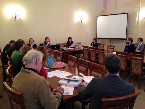 Krakow conference — Garfield Lau