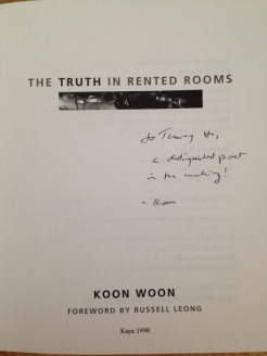 The Truth in Rented Rooms by Koon Woon