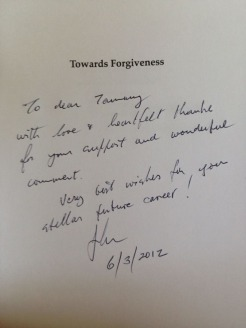 Towards Forgiveness by John Biggs