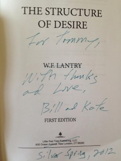 The Structure of Desire by W.F. Lantry