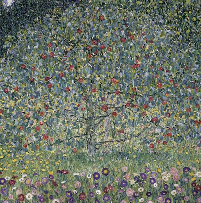 "GUSTAV KLIMT (1862-1918) ""Apple Tree I"" by Gustav Klimt (1862-1918)"